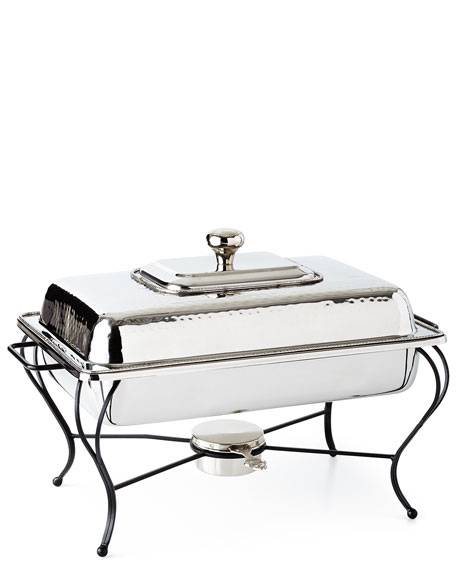 Star Home Designs 6-Quart Rectangular Chafing Dish
