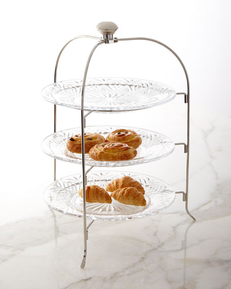 Godinger Dublin 3-Tier Serving Stand