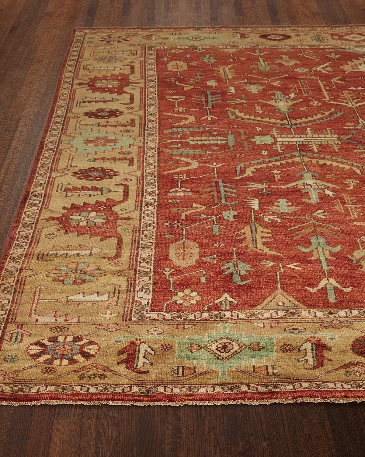 Exquisite Rugs Kareena Serapi Rug, 6' x 9'