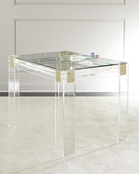 Miranda Acrylic Backgammon Table