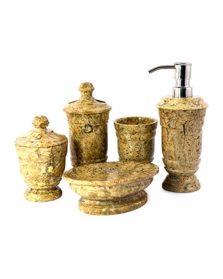Fossil Stone 5-Piece Vanity Set