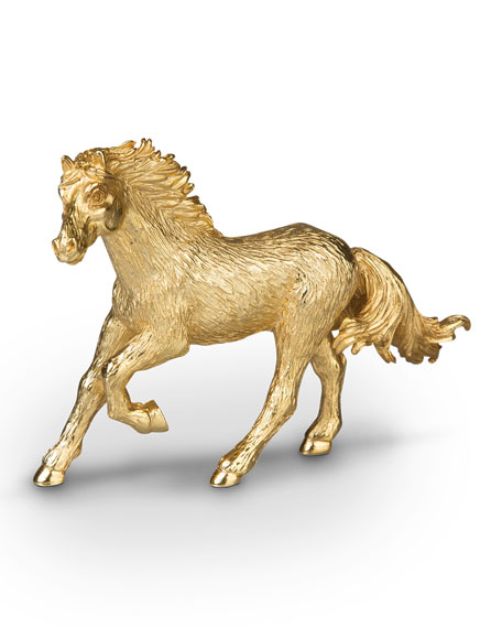 Jay Strongwater Small Horse Figurine