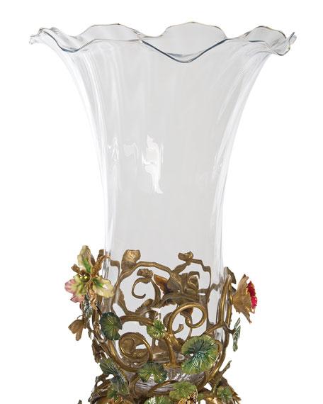 Floral Standing Vase