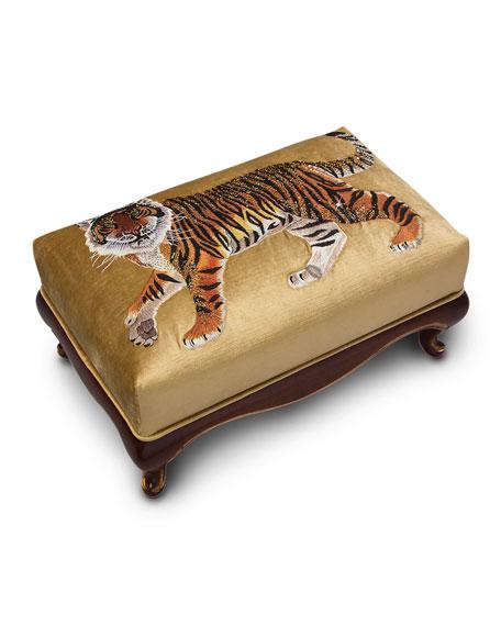 Tiger Ottoman