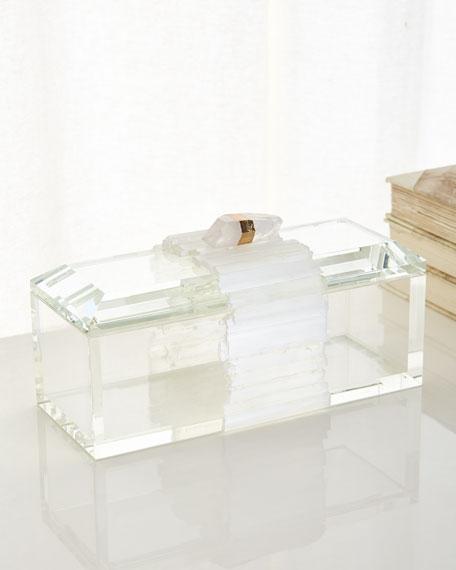 John-Richard Collection Crystal Box with Selenite Band
