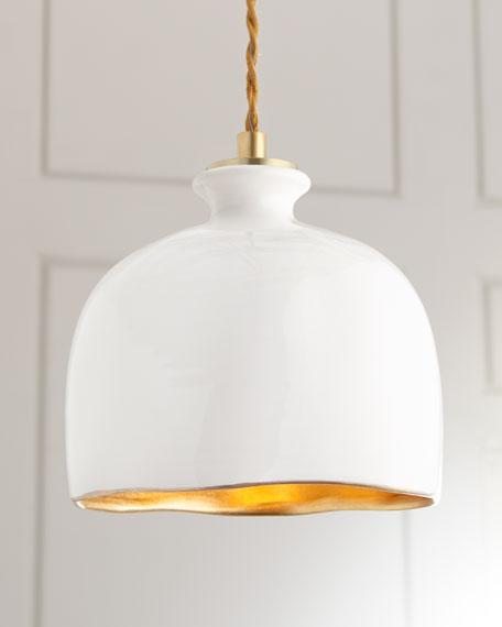 Regina Andrew Design Bianca Dome 1-Light Pendant