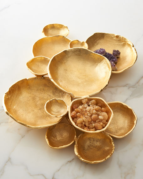 John-Richard Collection Organic Bowls Table Decor