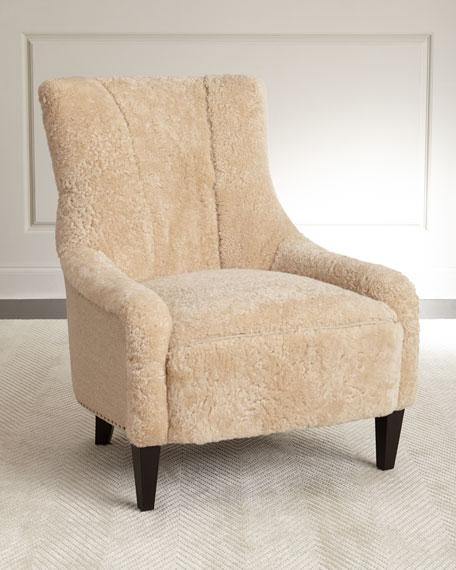 Bernhardt Kane Shearling Chair Neiman Marcus