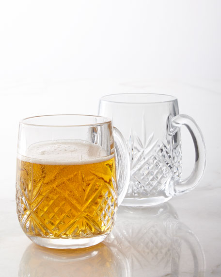 Godinger Dublin Beer Mugs, Set of 2