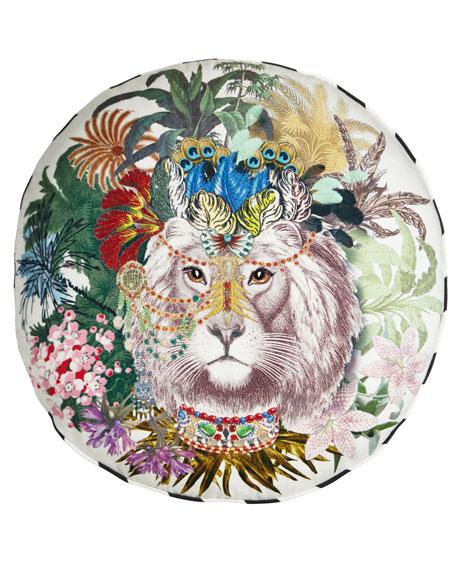 Christian Lacroix Jungle King Decorative Pillow