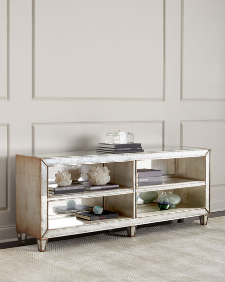 Jax Eglomise Console Table