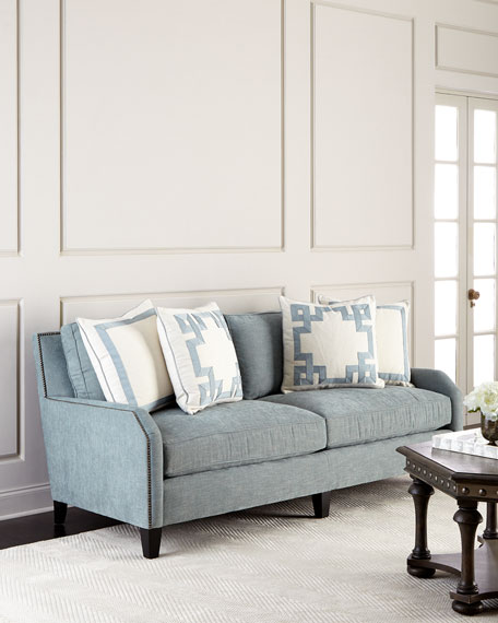 Leather Furniture Outlet North Carolina: Bernhardt Bridgewater Sofa