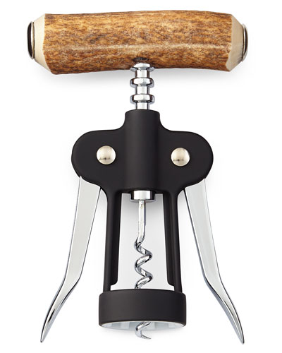 Antler Double Corkscrew