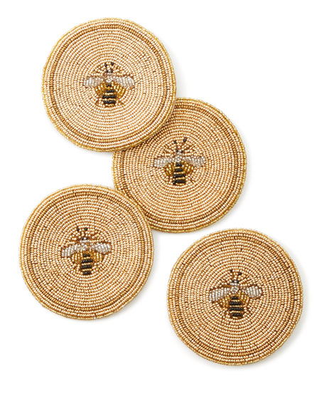 Bee Coasters, Set of 4