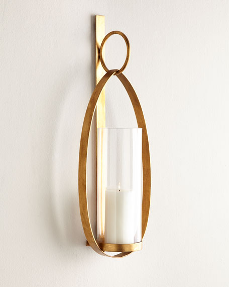 Loop Candle Wall Sconce