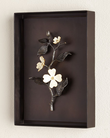 Wall Decorations Michaels : Michael aram dogwood wall art