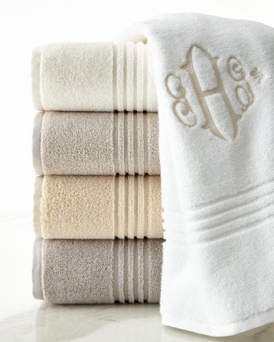 Chelsea Bath Towel, Monogrammed