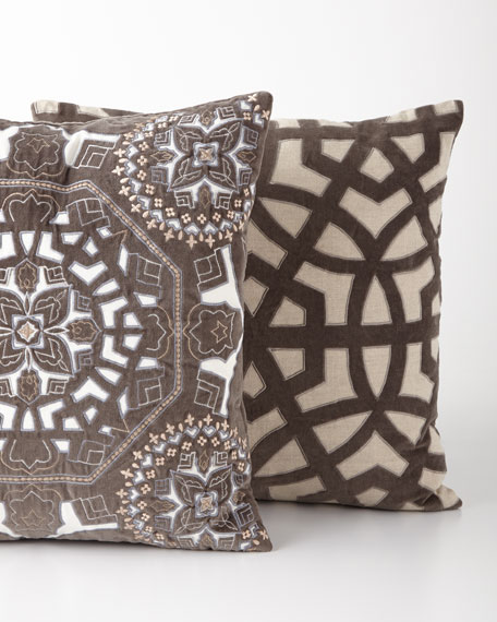 Lantern Gray Pillow
