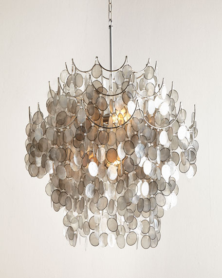 Capiz 6-Light Chandelier