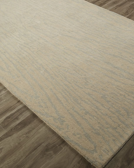 Grammercy Woodgrain Rug, 4' x 6'