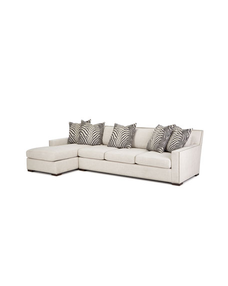 Zanzibar Left Chaise Sectional Sofa