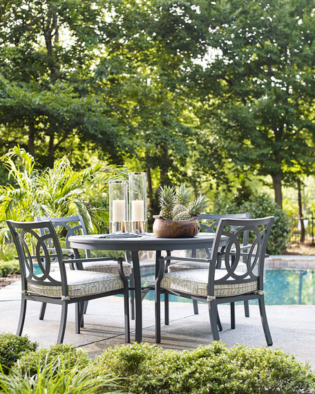Beau Raleigh Round Outdoor Dining Table