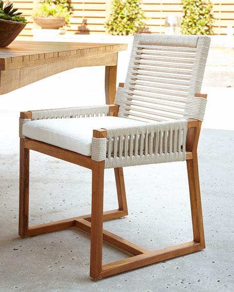 Palecek San Martin Outdoor Dining Side Chair