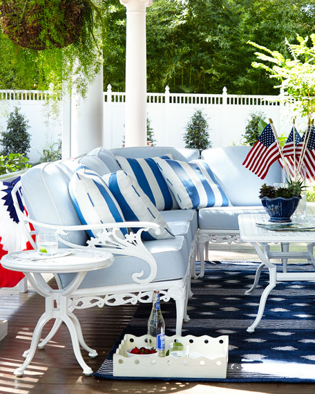 Stripe Outdoor Pillow