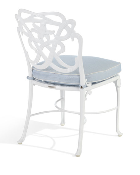Brown Jordan Day Lily Outdoor Dining Side Chair