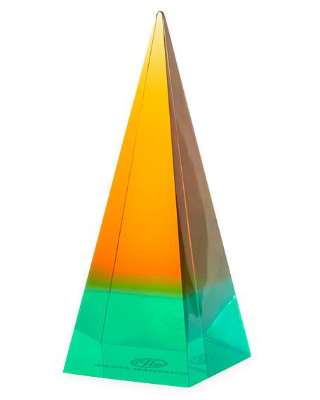 Small Neo Geo Acrylic Obelisk
