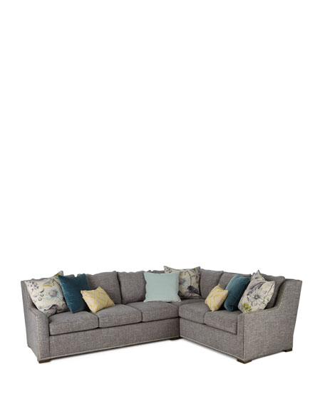 Augustine Left-Arm Sectional Sofa