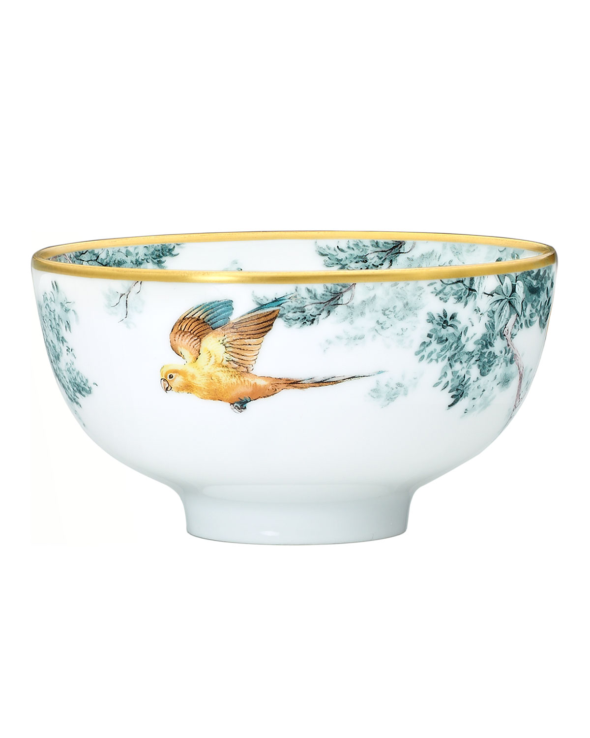 Hermès Carnets D'Equateur Birds Medium Bowl