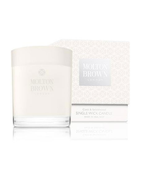 Molton Brown Coco & Sandalwood Single-Wick Candle, 6.3 oz./ 180 g