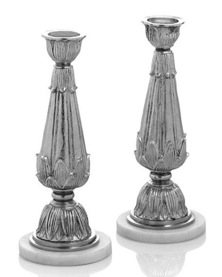 Palace Candleholders, Set of 2