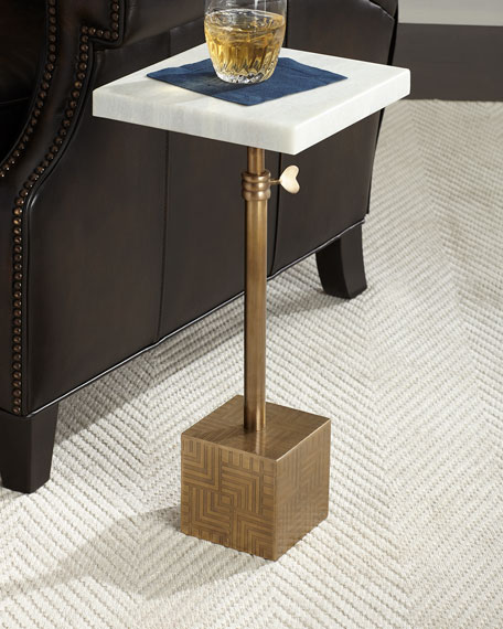 Greely Marble Side Table