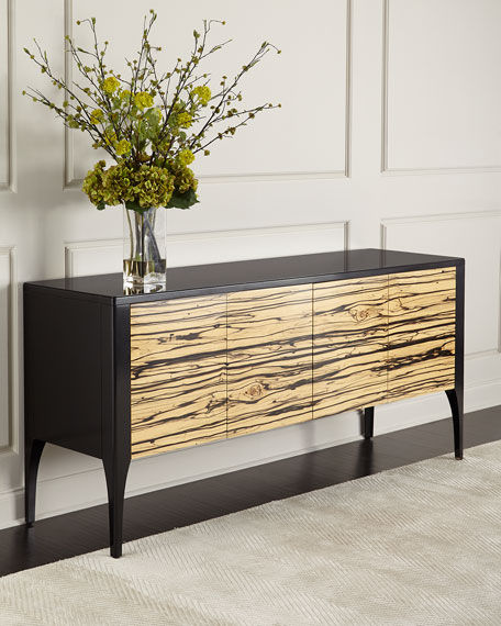 John-Richard Collection Zachary Zebra-Wood Console