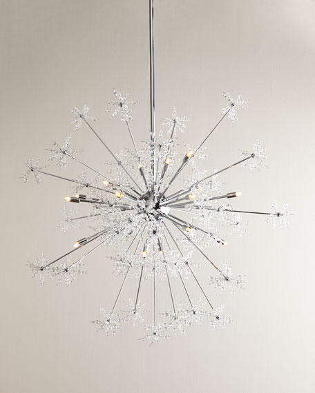 Snowburst 20-Light Chandelier