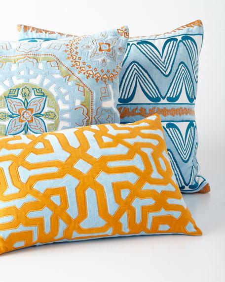 Espena Light Blue Pillow