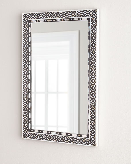 Evelyn Mother-of-Pearl Mirror