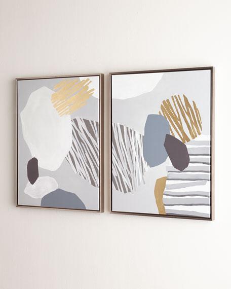 """Formulation"" Giclees, Set of 2 Panels"