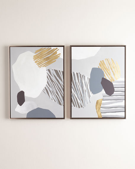 """Formulation"" Giclees, Set of 2 Panels"