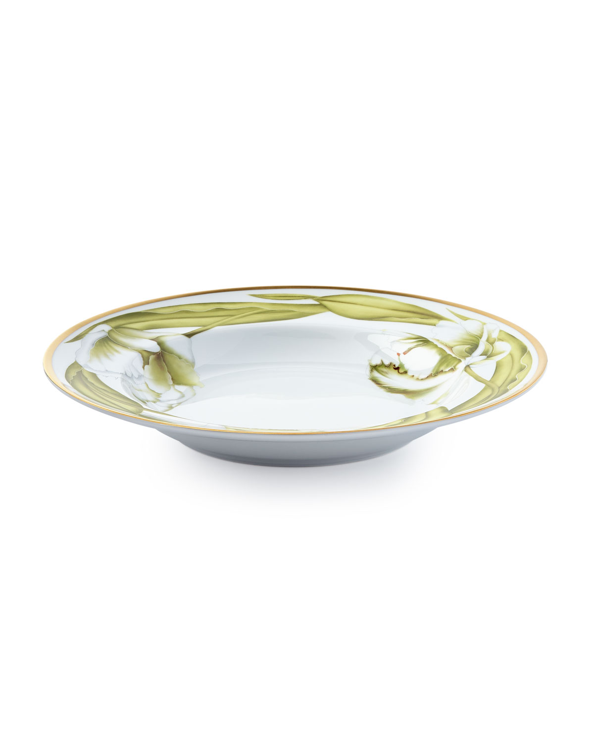 Anna Weatherly White Tulips Soup Bowl