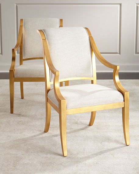 Bernhardt Pair of Elizabeth Armchairs