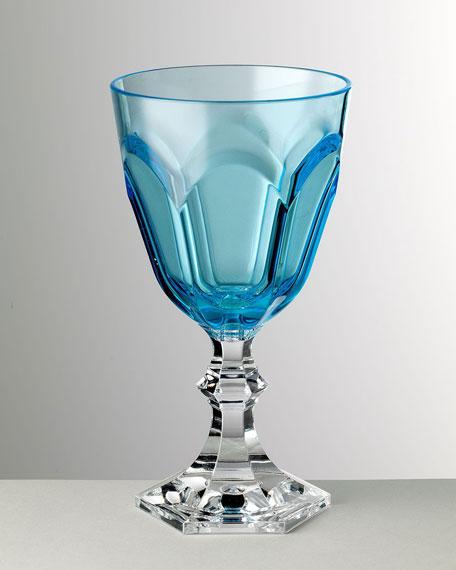 Mario Luca Giusti Dolce Vita Turquoise Water Goblet