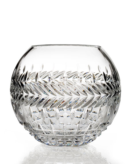 "Waterford Crystal ""Meg"" Rose Bowl"