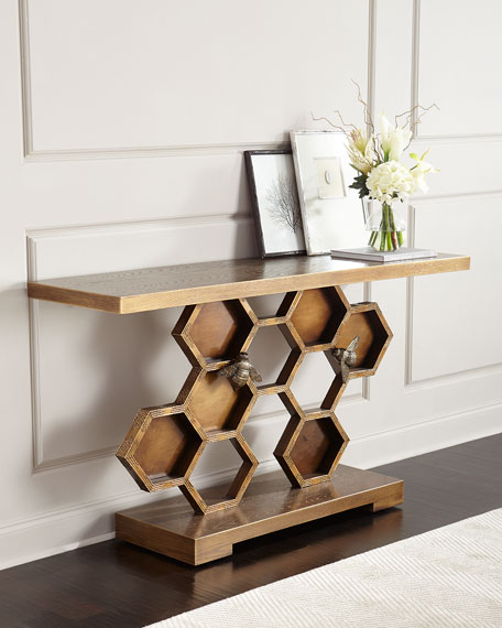 John-Richard Collection Bumble Bee Console Table