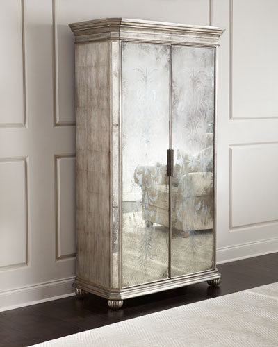 Lucero Mirrored Cabinet