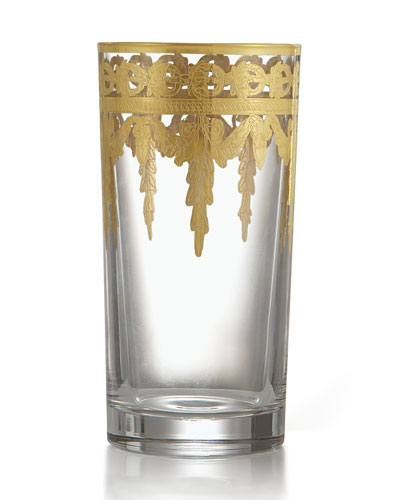 vetro gold highball - Arte Italica