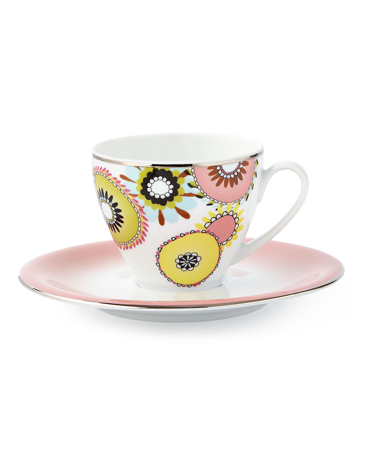 Missoni Margherita Teacup Saucer
