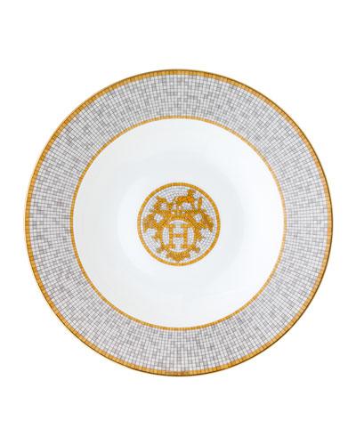 mosaique au 24 platinum pastasoup plate